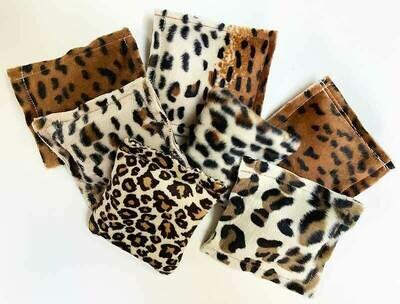 Wild Faux Fur Squares