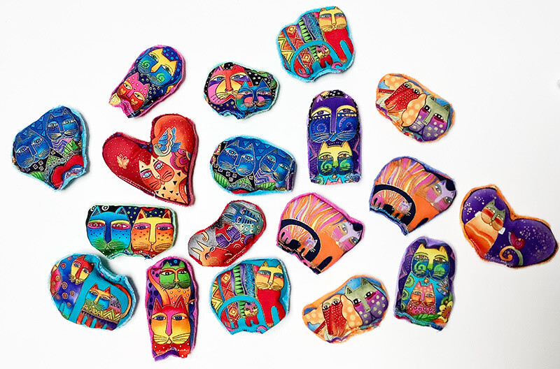 Laurel Burch Assorted Catnip Toys