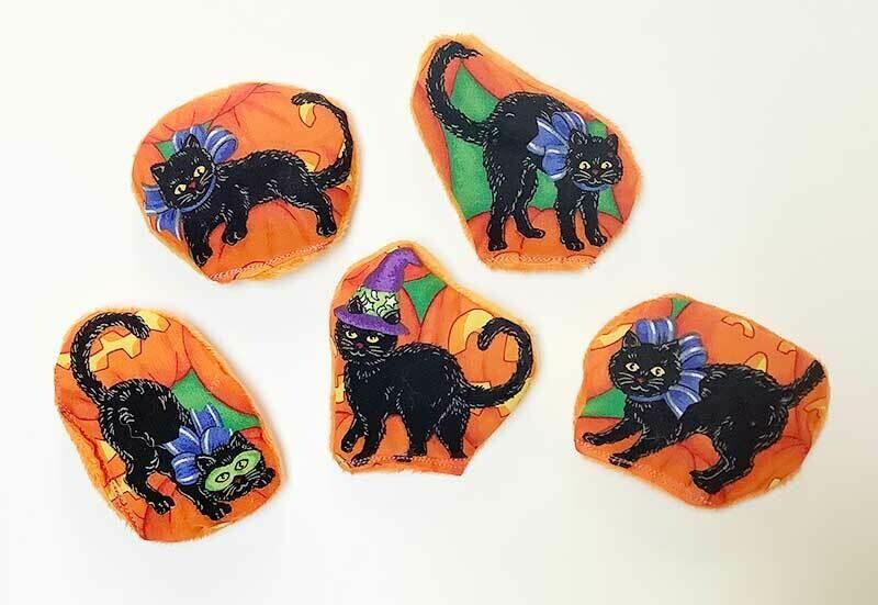 Black Cat Halloween Toy