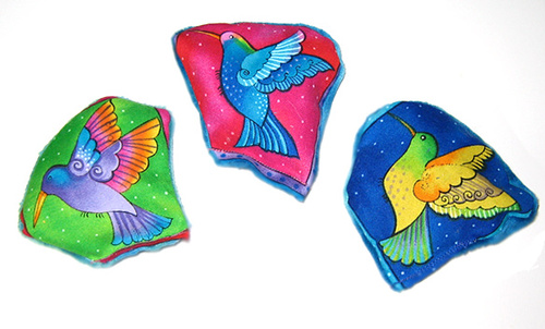 Laurel Burch Hummingbird Cat Toys
