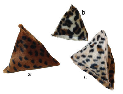 Animal Print Pyramid Bonbon Toys