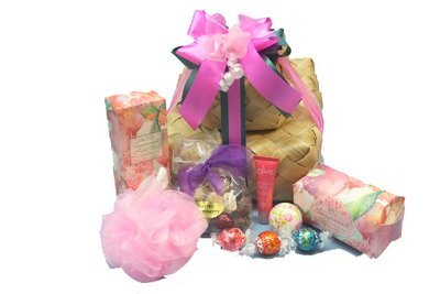 Specialty gift hampers pamper packsnatural productsnz pamper treats just for her negle Images