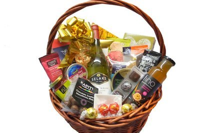 Gourmet gift basketspremium hampers gourmet connoisseur nz gourmet supreme gift hamper with wine negle Images