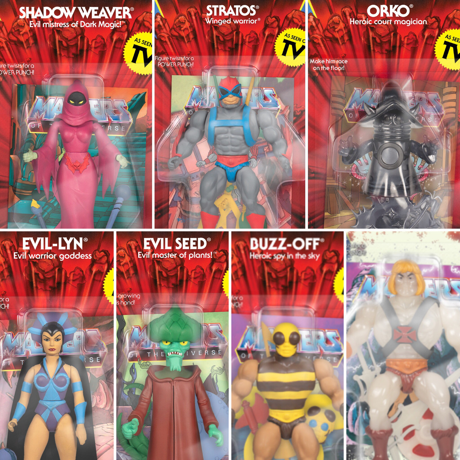 MASTERS OF THE UNIVERSE VINTAGE WAVE 4 Buzz Off