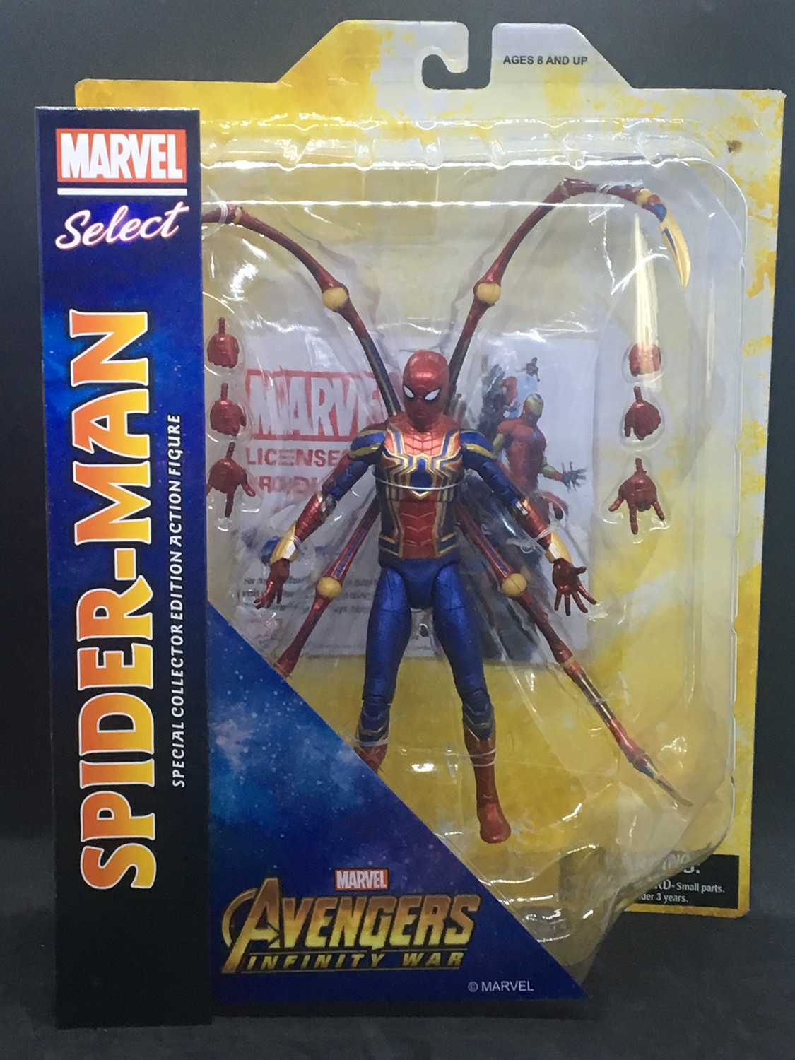 MARVEL SELECT AVENGERS 3 IRON SPIDER-MAN ACTIONFIGUR