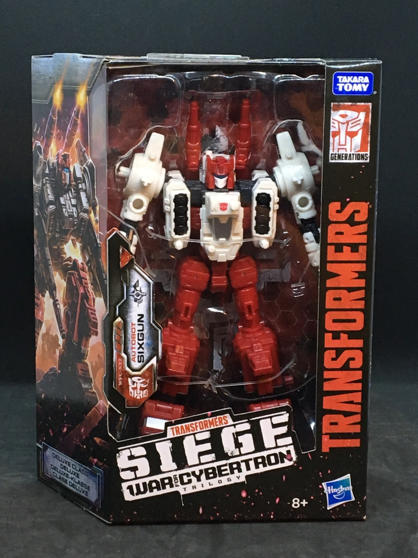 Transformers War For Cybertron: Siege - Deluxe Wave 2 Sixgun