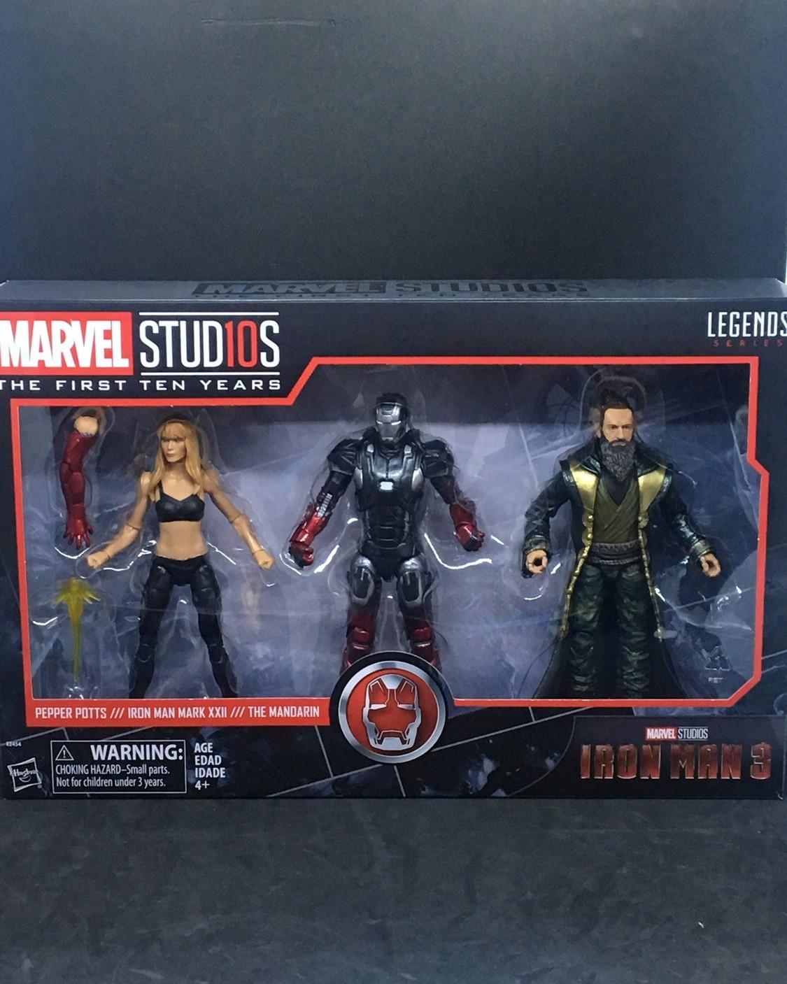 Marvel Legends 10th Anniversaire Iron Man Action Figure NEW