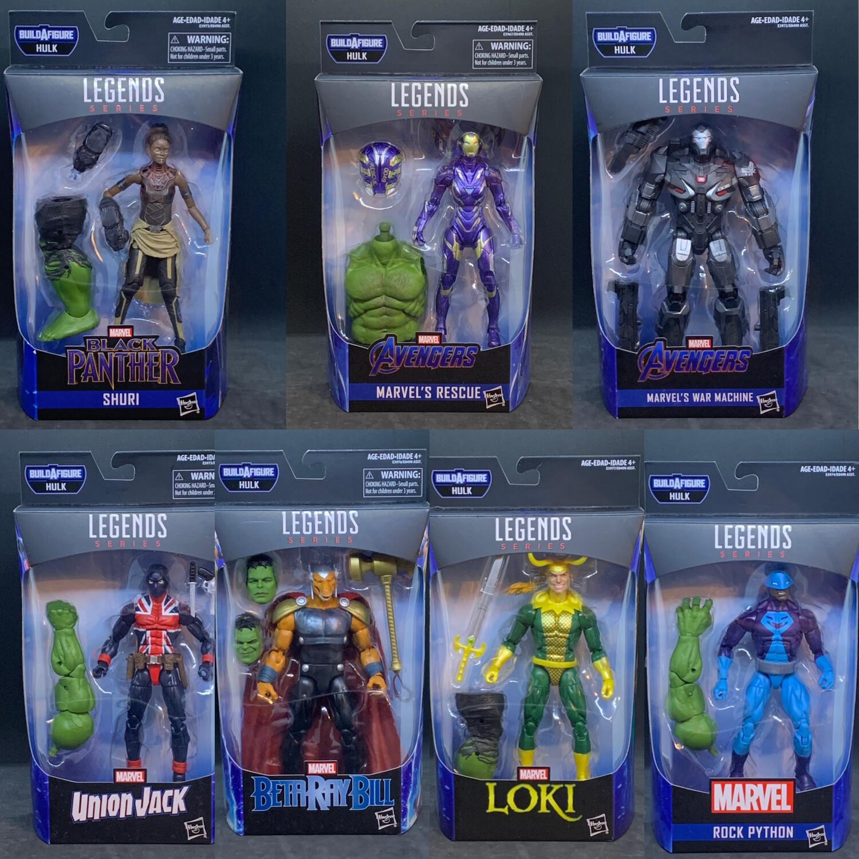 "Marvel Legends 6/"" Avengers Issue Wave 2-Loki Hulk BAF"