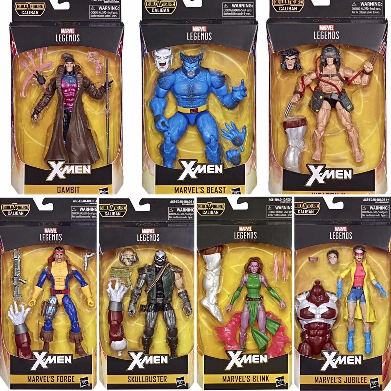 """en Stock Caliban BAF Marvel Legends 6/"""" x-men Wave 4-Gambit"""