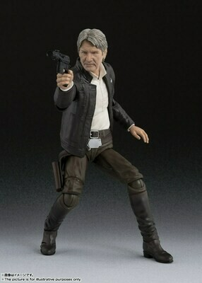 Bandai S.H Reissue Figuarts Star Wars Episode IV Han Solo A New Hope