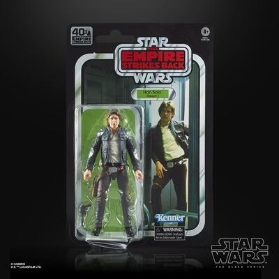 Star Wars 40th Anniversary Han Solo La Série Black Kenner UK Figure WAVE 1
