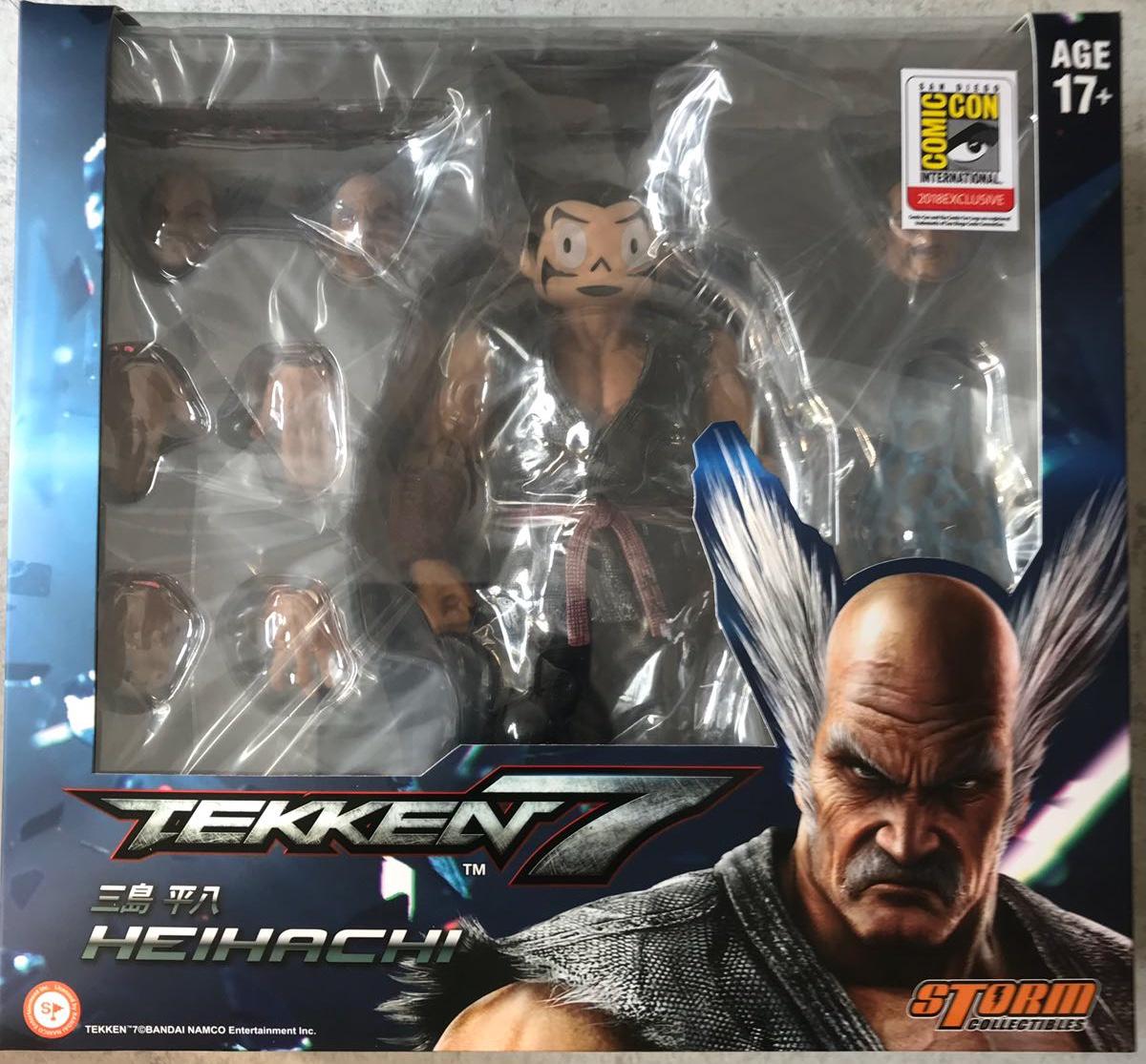 Storm Collectibles Tekken 7 Heihachi Mishima Special Edition Sdcc 2018 Exclusive