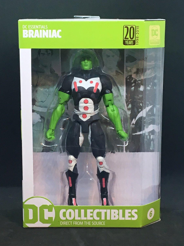 2018 BRAINIAC action figure DC Essentials DC Collectibles New