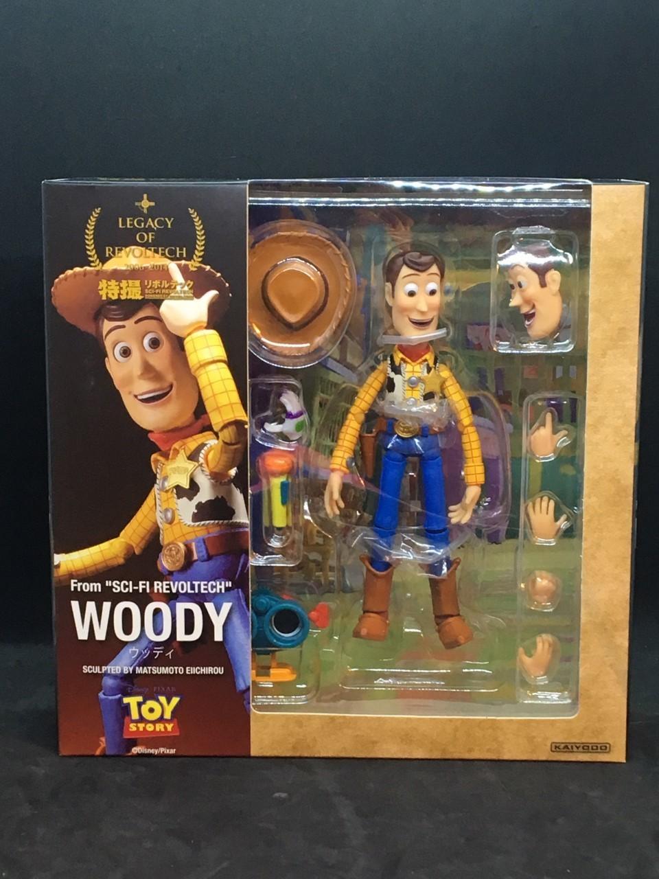 TOY STORY Kaiyodo Sci-Fi Revoltech Woody