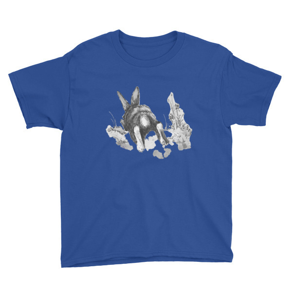 Moose Beach Bunny Youth Short Sleeve T-Shirt