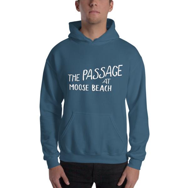 Moose Beach Logo Hooded Sweatshirt
