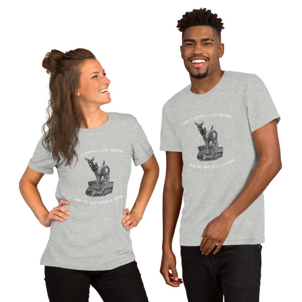 Moose Beach See Who Needs a Hand Short-Sleeve Unisex T-Shirt