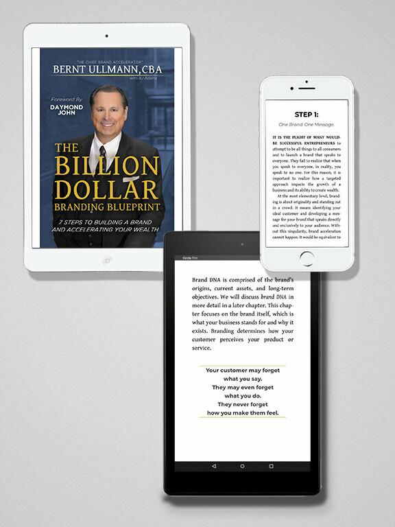 The Billion Dollar Branding Blueprint   Ebook