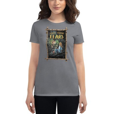 Face Your Fears Rustic Women's Shirt | Finding The Lost