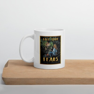 Face Your Fears Classic Mug | Finding The Lost