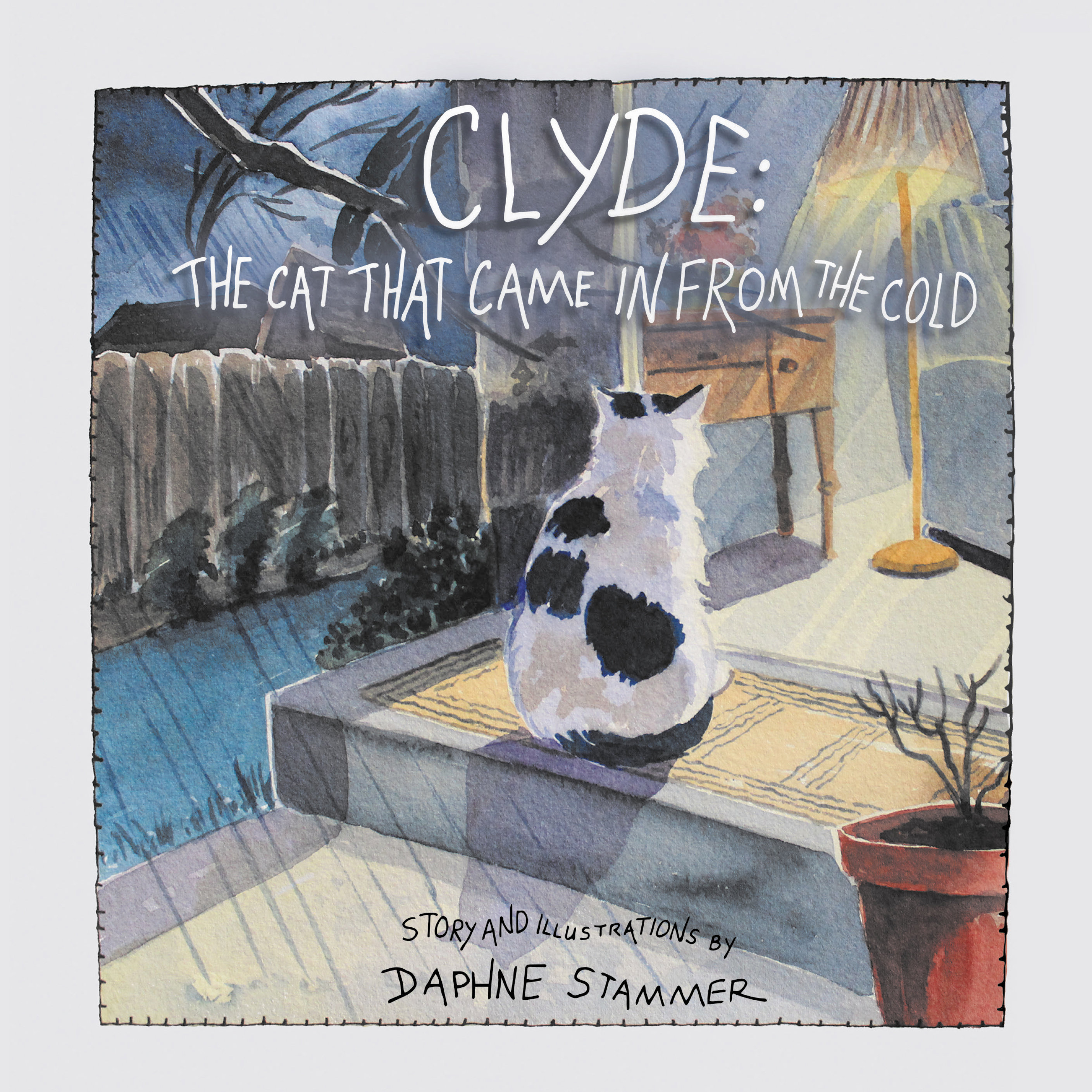 Clyde The Cat That Came In From The Cold (E-book)