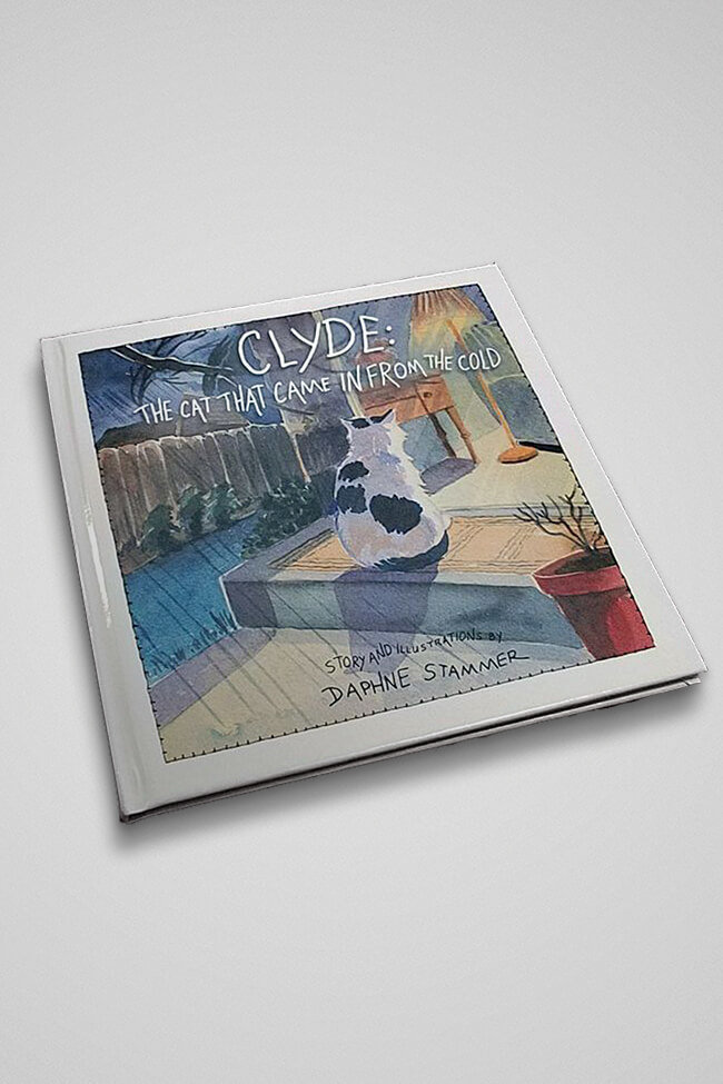 Clyde The Cat That Came In From The Cold (Hardcover)