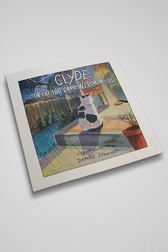 Clyde The Cat That Came In From The Cold (Paperback) 00011