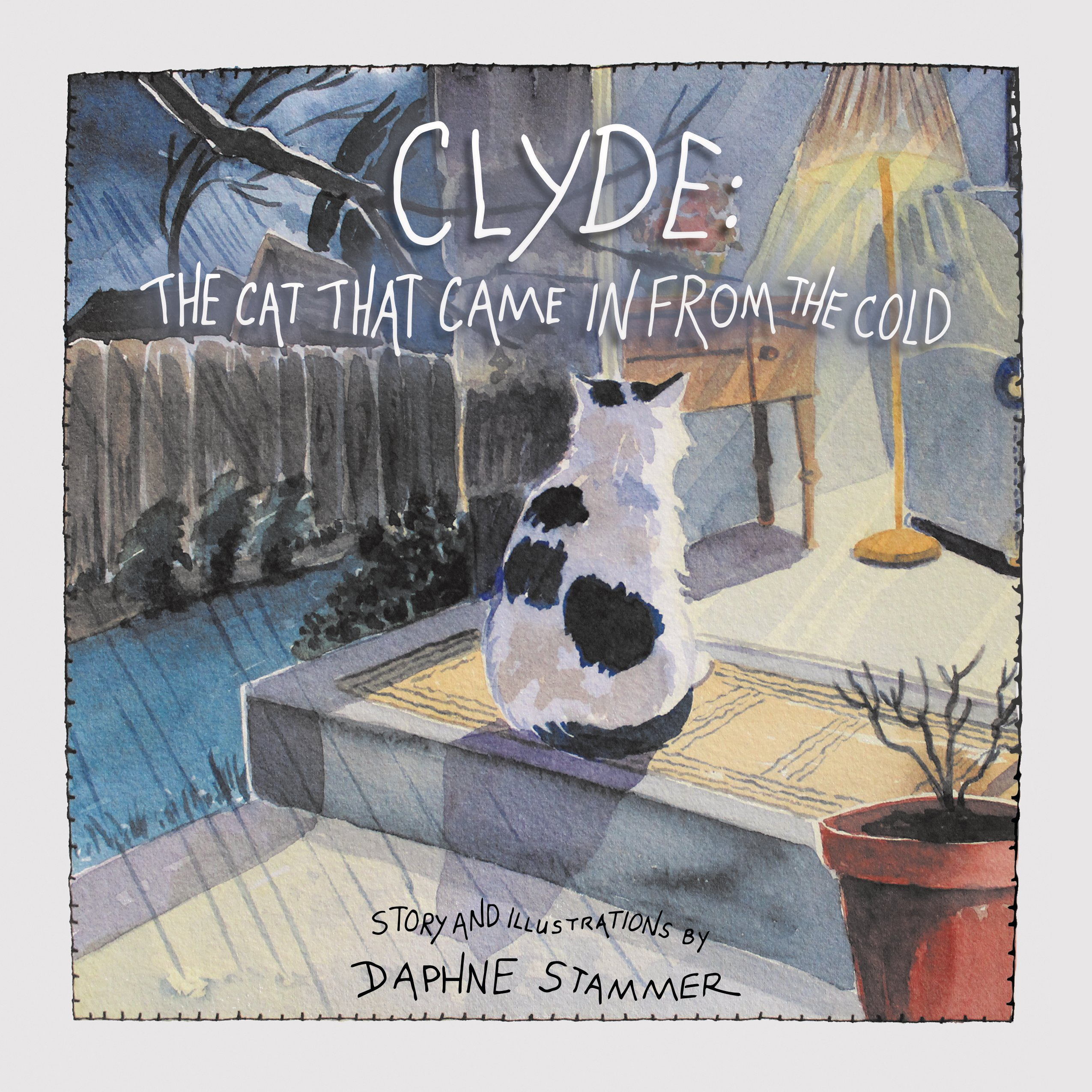 Clyde The Cat That Came In From The Cold (Paperback)