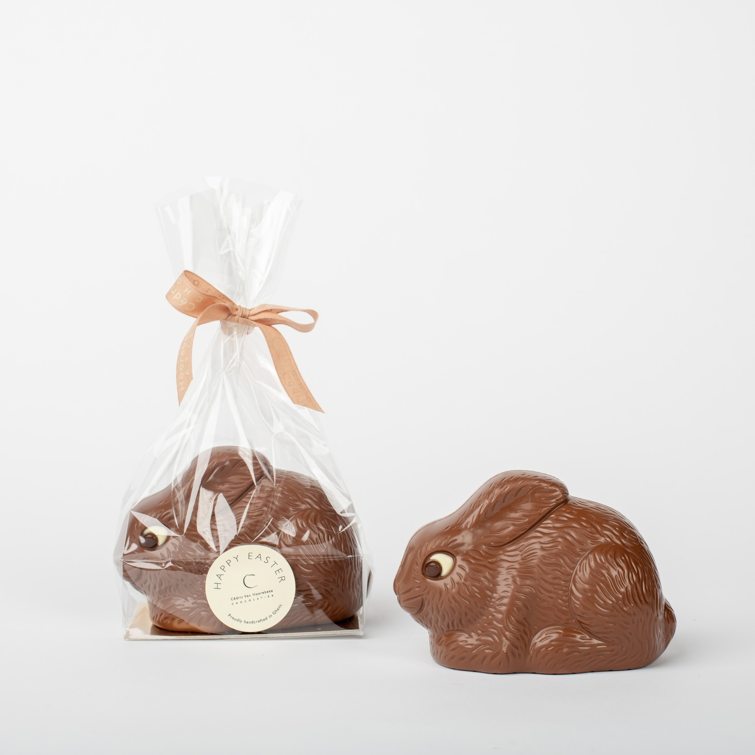 Dwarf rabbit - classic milk chocolate 33%