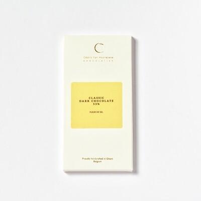 Fleur de sel & Classic dark chocolate 53%
