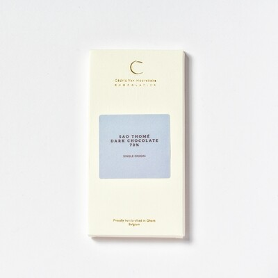 Sao Thomé 70% - Single origin dark chocolate - 100Gr.