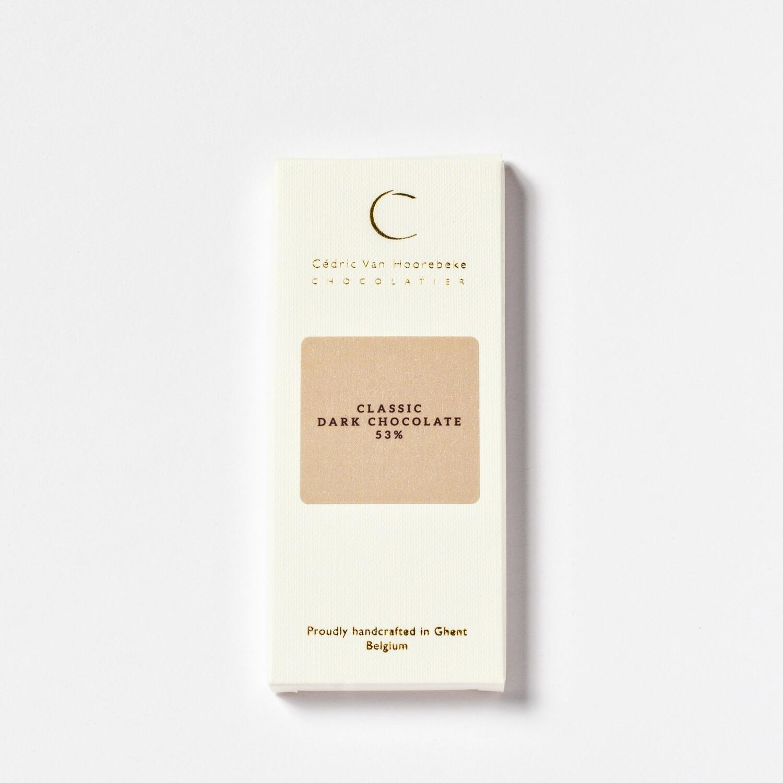 Classic dark chocolate 53% - 50Gr.