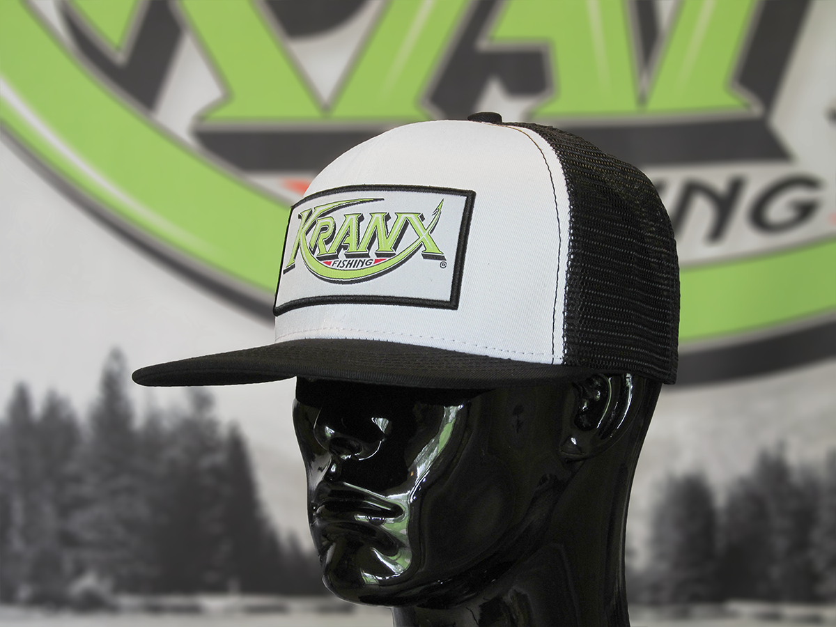 White Kranx Snap Back Hat 00103