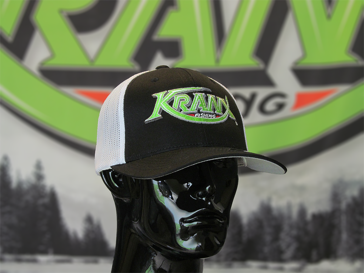 White Kranx FLEXFIT Hat 00105