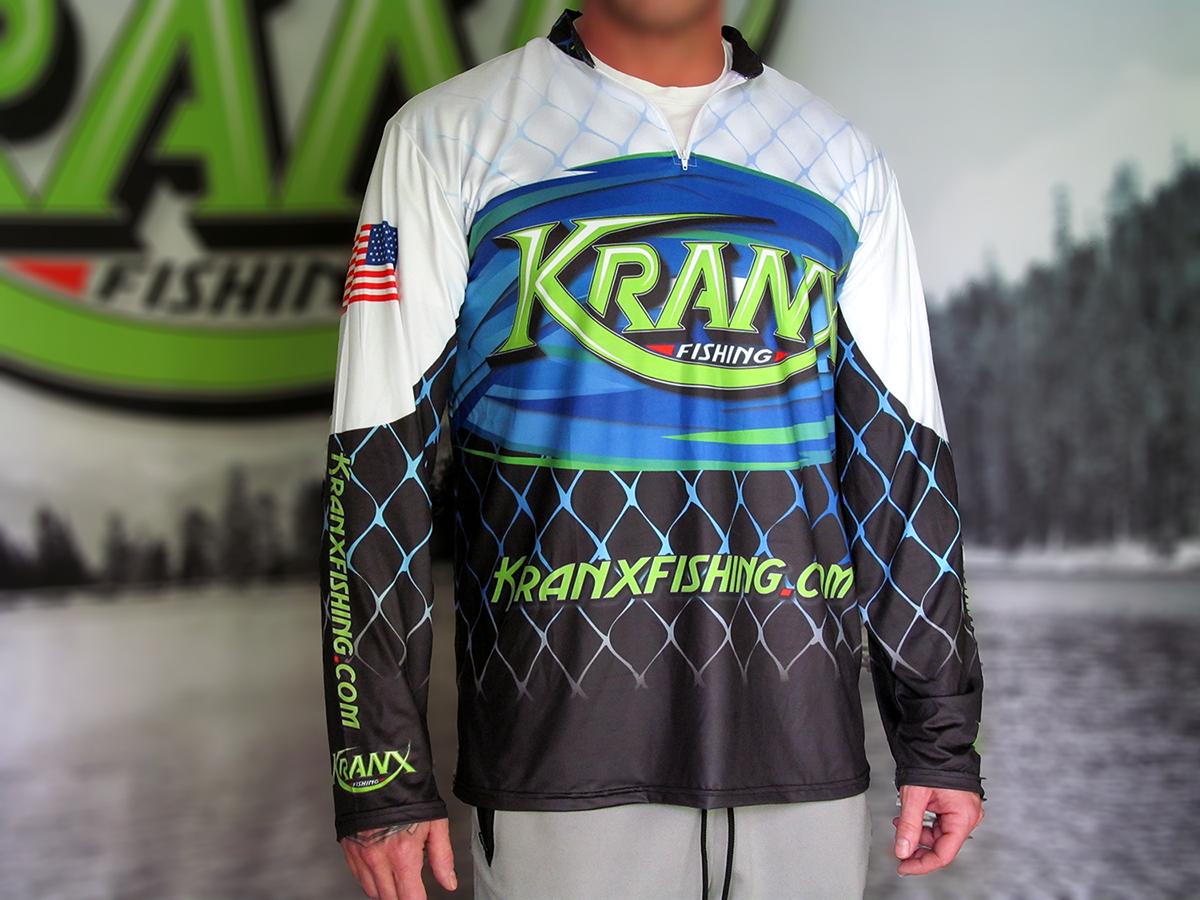 Kranx Fishing Official Team Jersey 00108