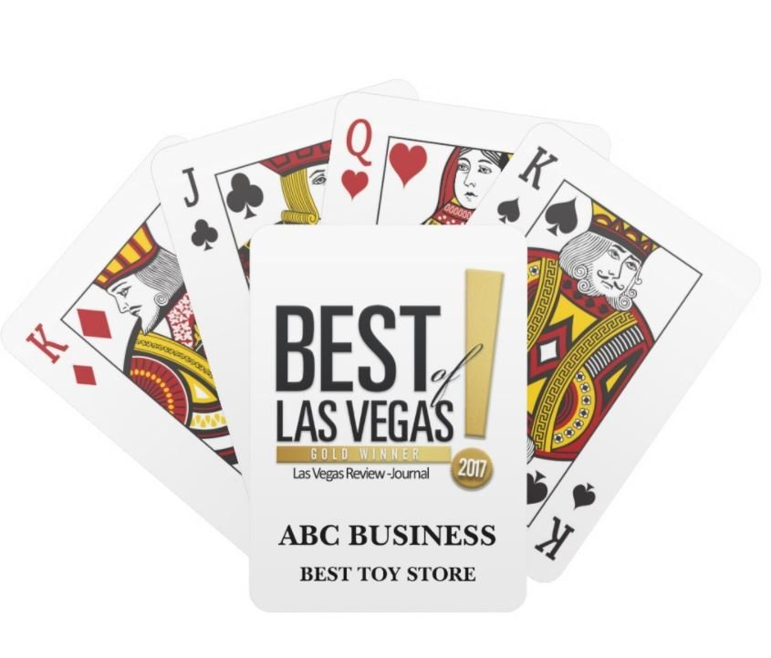 Custom Playing Cards   BEST OF LAS VEGAS   OFFICIAL MARKETING SITE
