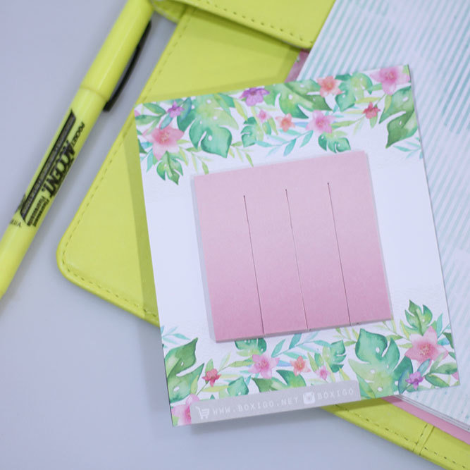 Pink 4 in 1 | Sticky notes