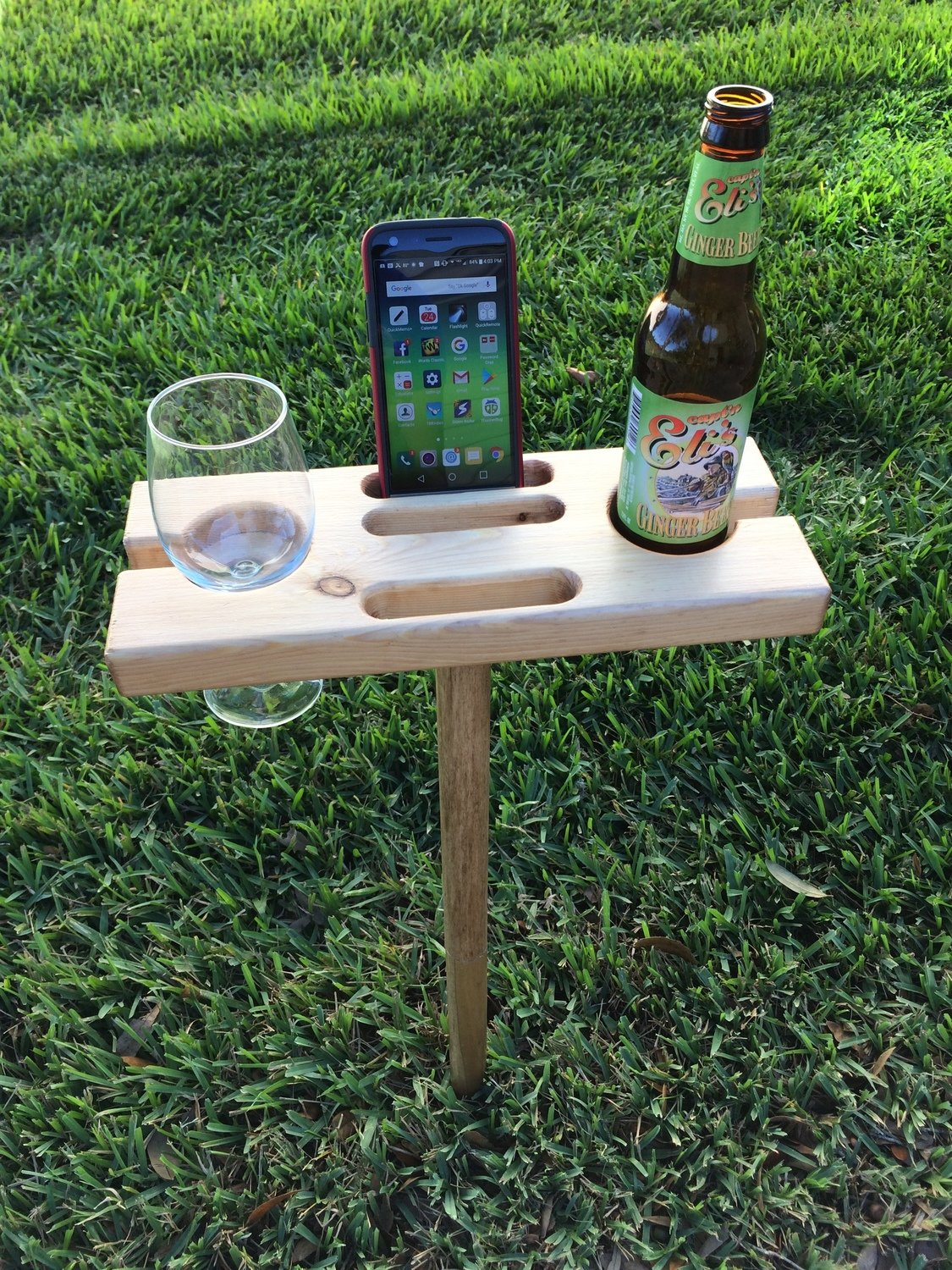 Outdoor Wine Glass Holder Wcarry Case
