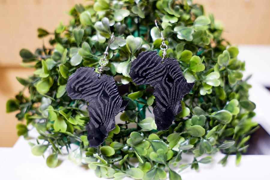 AfroZebra Earrings