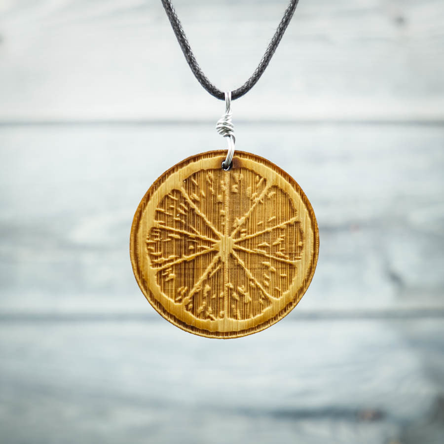 Citrus Bamboo Necklace