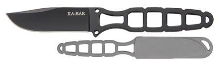 "Ka-Bar 1118BP Skeleton Tactical 2.5"" 5Cr15 Stainless Clip Point"