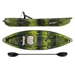 Vibe Skipjack90 Kayak (2019) Moss Camo **** Store pickup only No Shipping ****