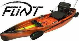 NuCanoe Flint 12 Hazzard Orange