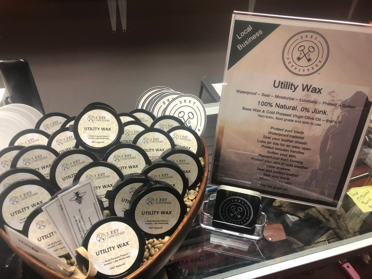 3 Key Outfitters Utility Wax