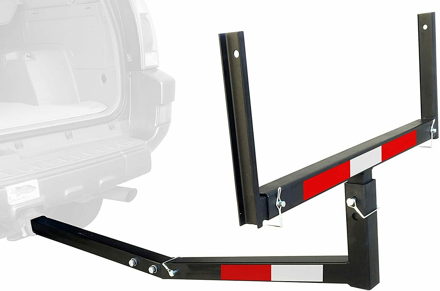 Appoutga Hitch Mount Truck Bed Extender (For Ladder, Rack, Canoe, Kayak, Long Pipes and Lumber)  *******No Shipping  Store pickup only******
