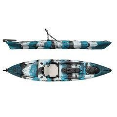 Vibe Sea Ghost 130 Kayak Angler Package (2018)  Blue Camo