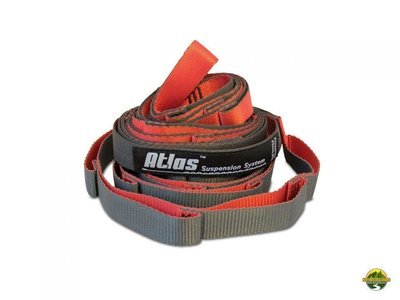 ENO ATLAS CHROMA STRAPS RED/CHARCOAL