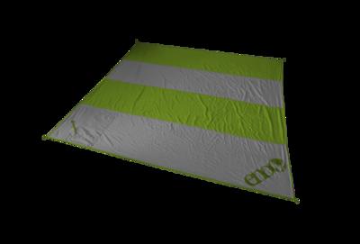 Eno Islander Beach Blankets LIME/CHARCOAL