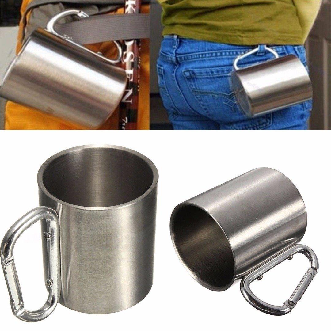 Stainleel Steel Carabinier Cup 220ml