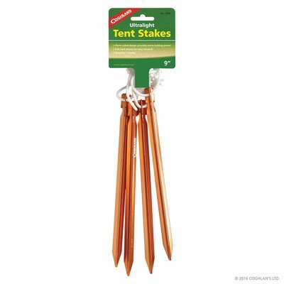 Ultralight Tent Stakes